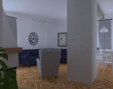 Dom jednorodzinny w stylu rustykalnym