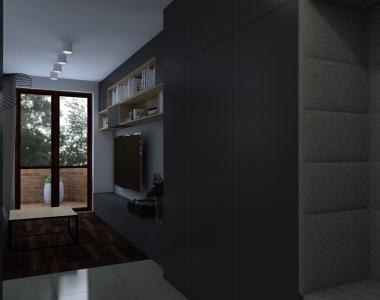 Apartament w stylu nowoczesnym